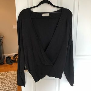 Deep V Sweater - WORN ONCE